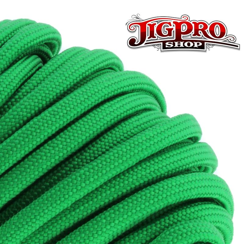 Green 550# Type III Paracord 100' S06