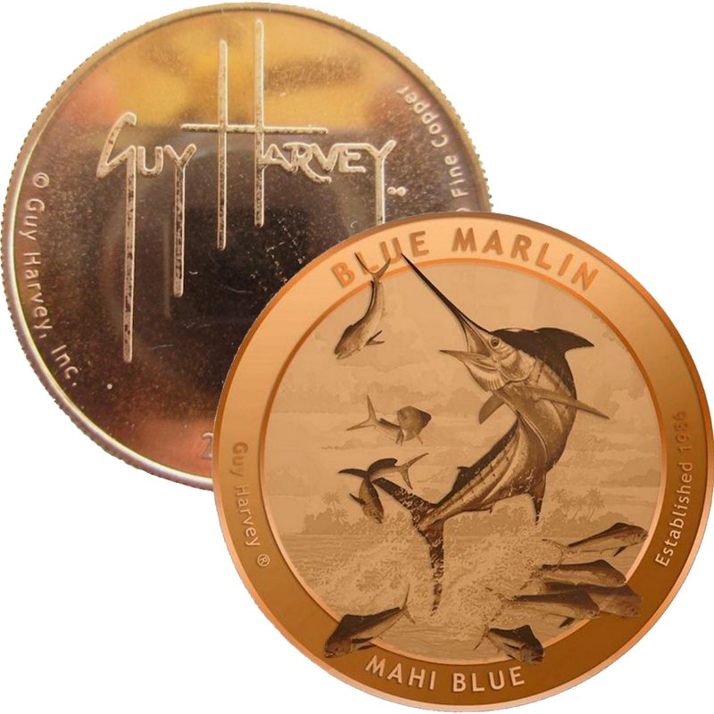 Guy Harvey (2015) 1 oz .999 Pure Copper Round
