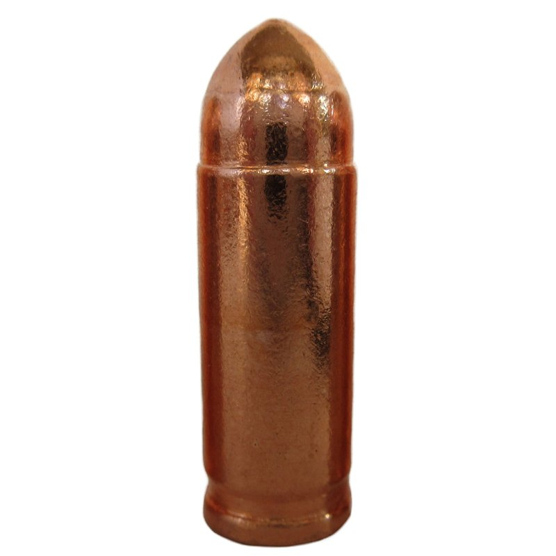 1/2 oz. Bullets from .999 Pure Copper (2 Pack)