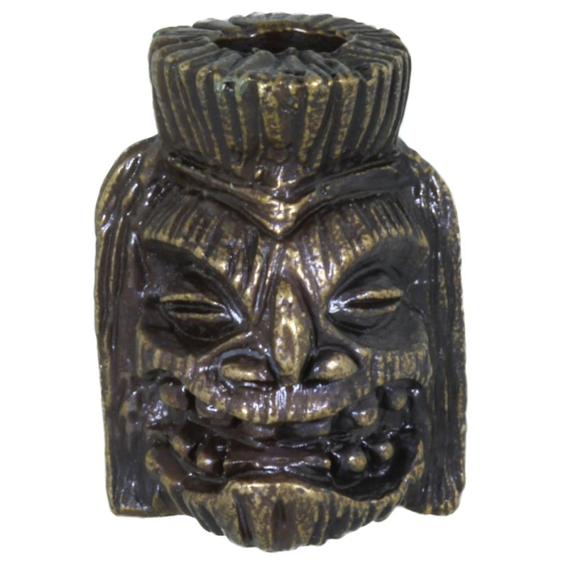 Ku Tiki Bead in Solid Oil Rubbed Bronze by Schmuckatelli Co.