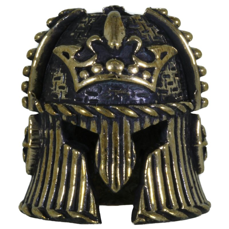 Royal Helmet in Brass by Lion ARMory