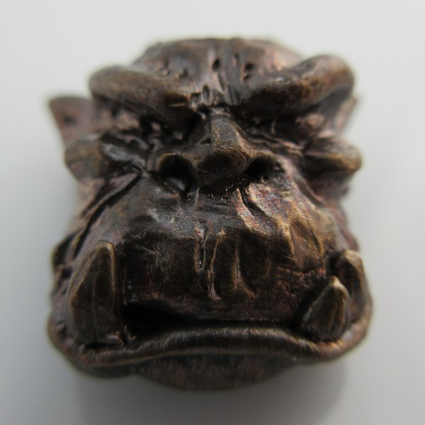 Ogre Bead in Bronze