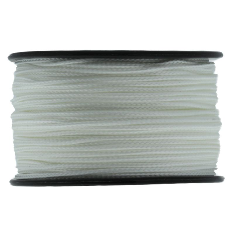 White Micro Cord 1.18mm x 125' MS08