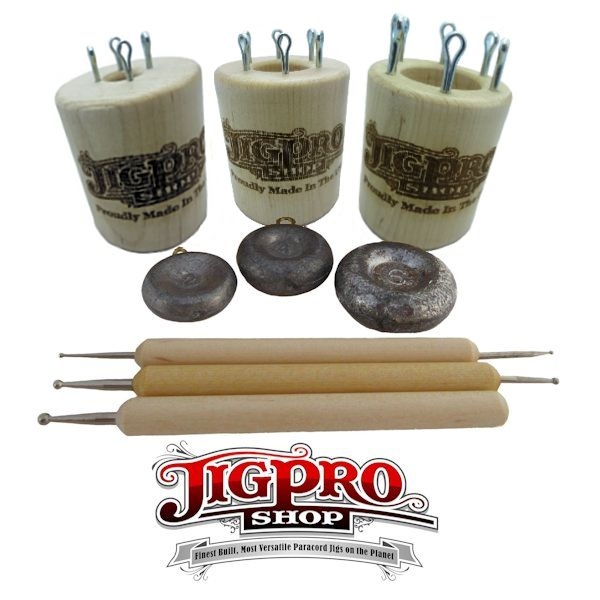 Knitting Spool Kit (Small, Medium, & Large) Maple