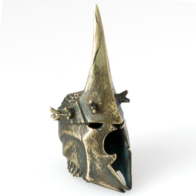 Nazgul Helmet Bead in Brass by Russki Designs