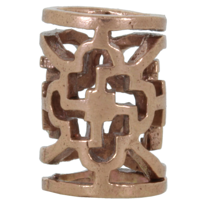 Ornamental Tube Spacer Bead in Copper by Covenant Everyday Gear