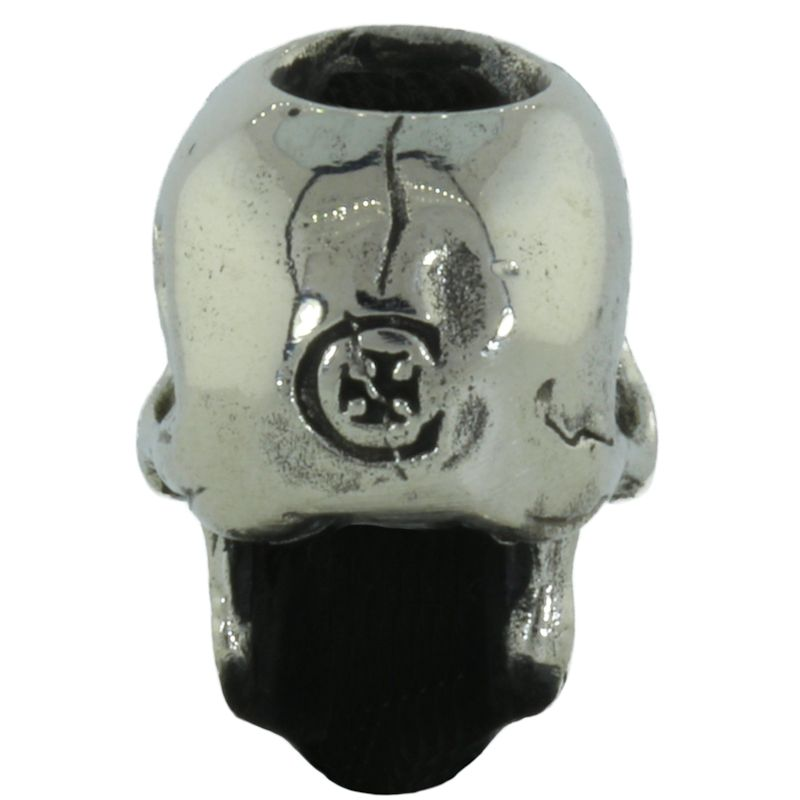 Perfect Skull in White Brass by Covenant Everyday Gear