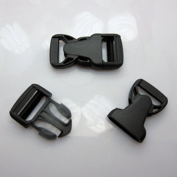 "3/4"" Rock Lockster Brand Black Side Release Buckles"