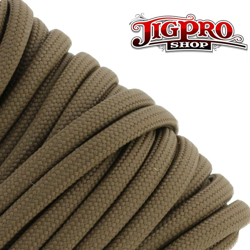 Brown 550# Type III Paracord 100' S07