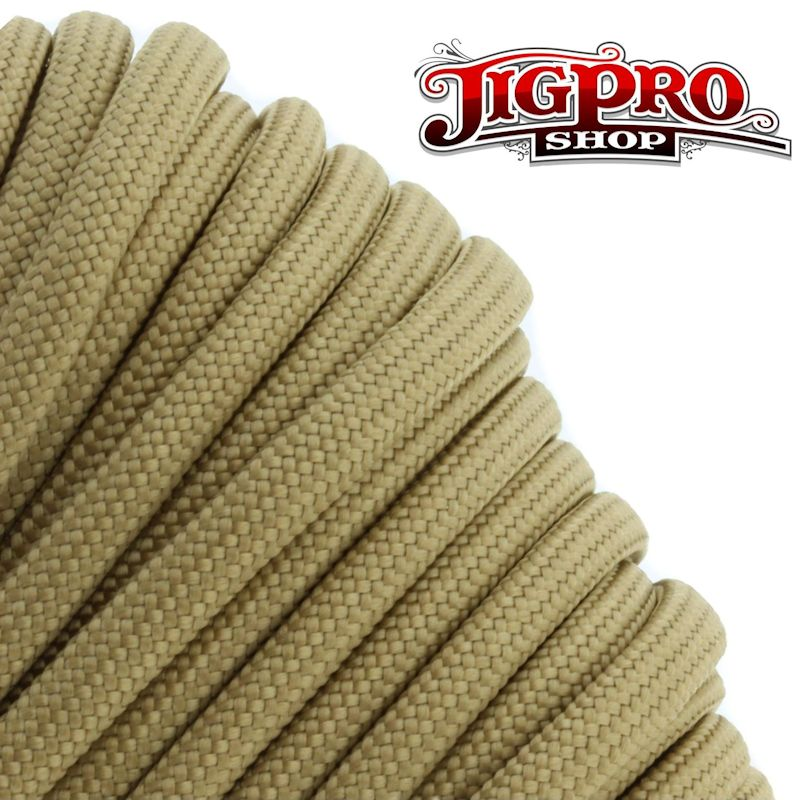 Tan 550# Type III Paracord 100\' S10