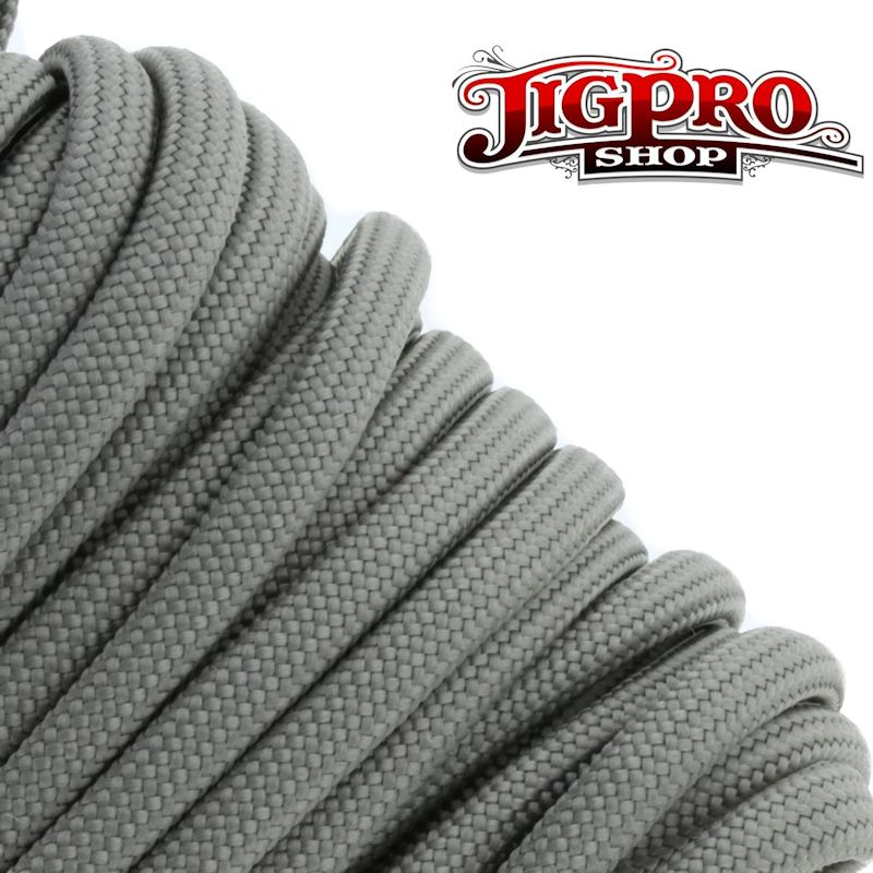 Grey 550# Type III Paracord 100' S12