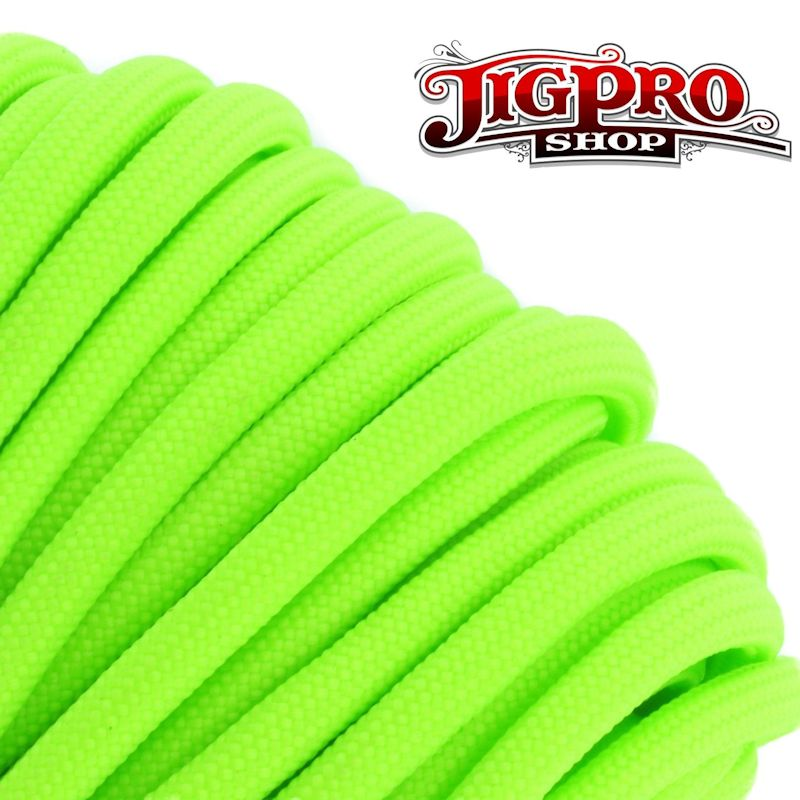 Neon Green 550# Type III Paracord 100' S18