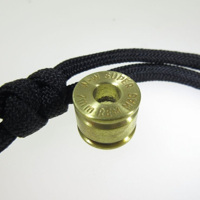 7MM Brass Bullet Casing Bead By Bullet KeyRing