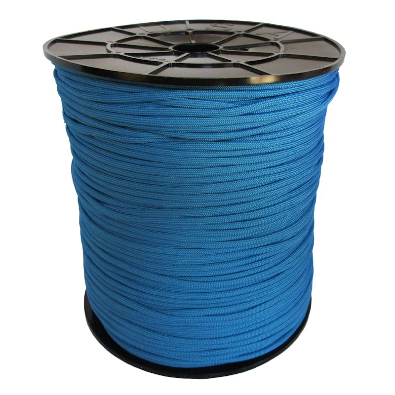 Blue 550# Type III Paracord 1000' Spool SS02
