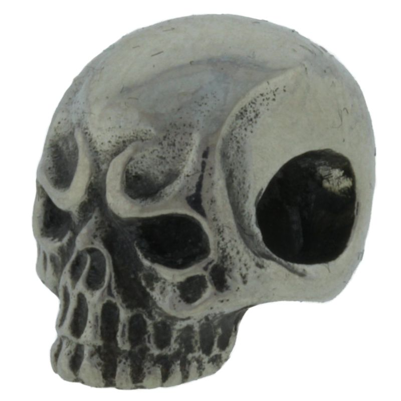 Jawless Skull #1 in .925 Sterling Silver by GD Skulls