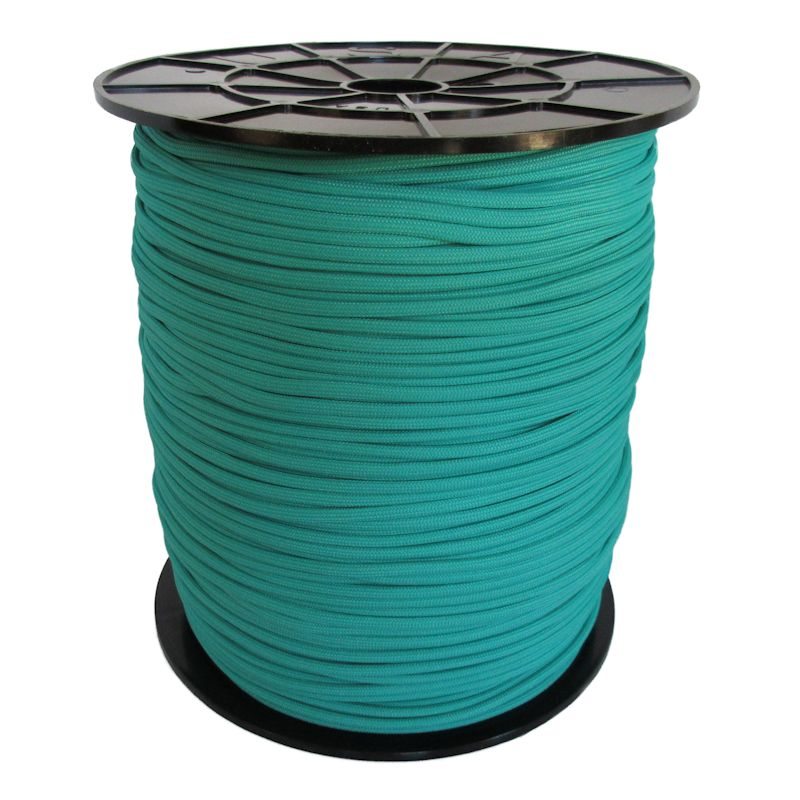 Teal 550# Type III Paracord 1000' Spool SS11