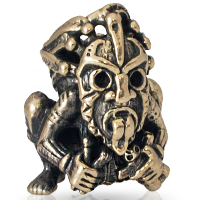 Shaman VooDoo Bead in Brass by Russki Designs