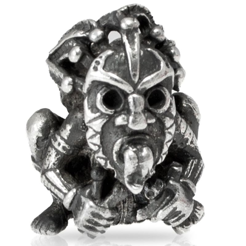 Shaman VooDoo Bead in Nickel Silver by Russki Designs