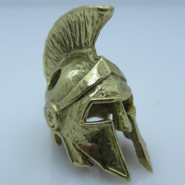 Spartan Helmet Elite Brass by Covenant Everyday Gear