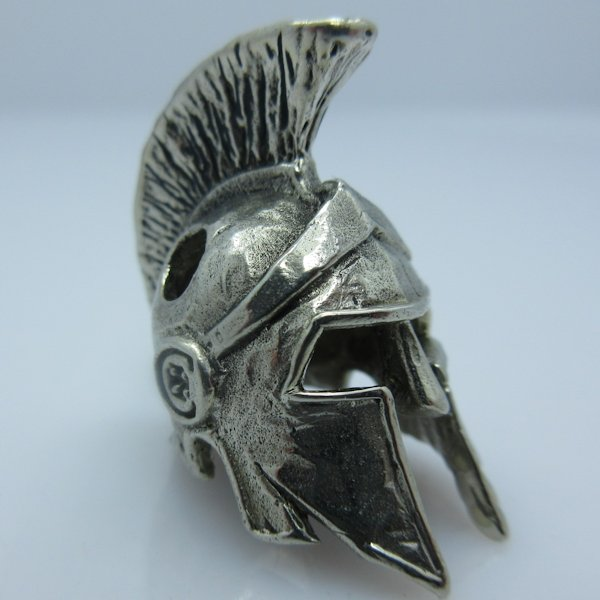Spartan Helmet Elite in White Brass by Covenant Everyday Gear