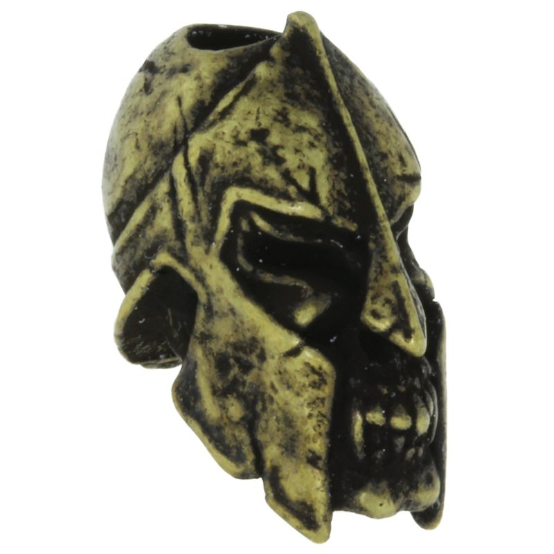 Spartan Bead in Roman Brass Oxide Finish by Schmuckatelli Co.