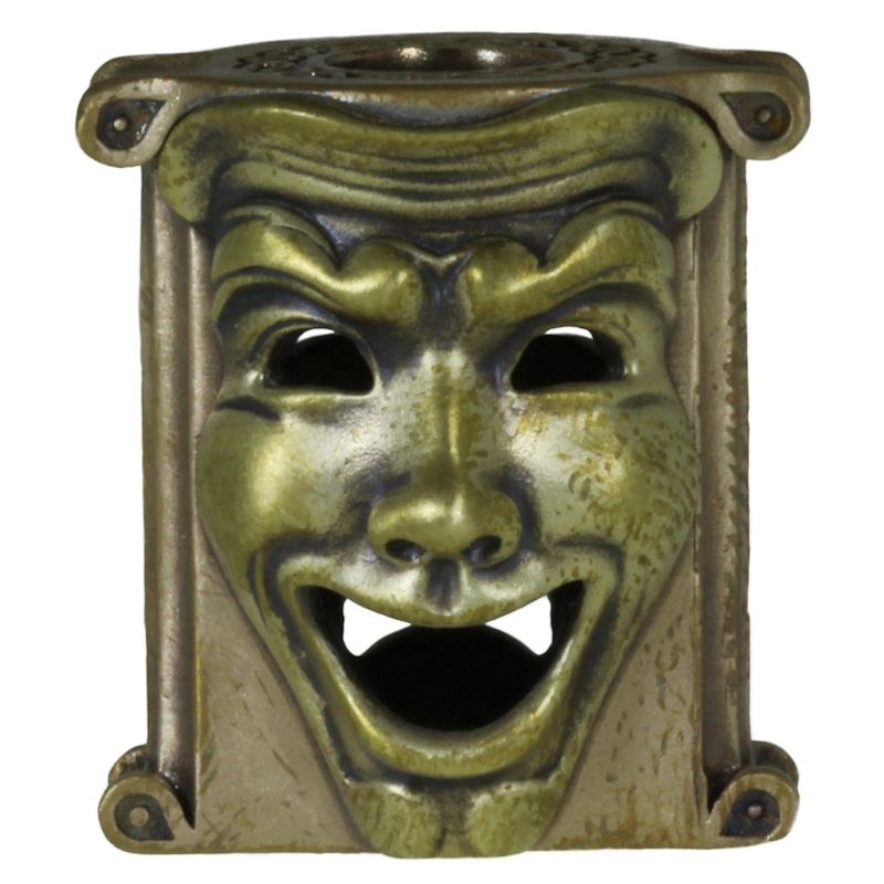 Theatrical Mask (Bronze Base - Brass Masks) By Techno Silver