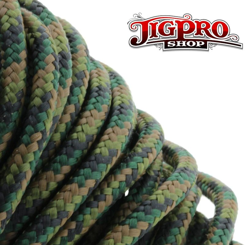 "Woodland Camo 275# Tactical Cord 3/32"" x 100' TC04"
