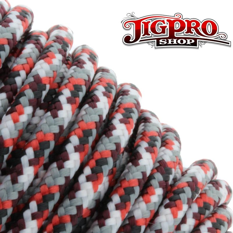 "Red Camo 275# Tactical Cord 3/32"" x 100' TC05"