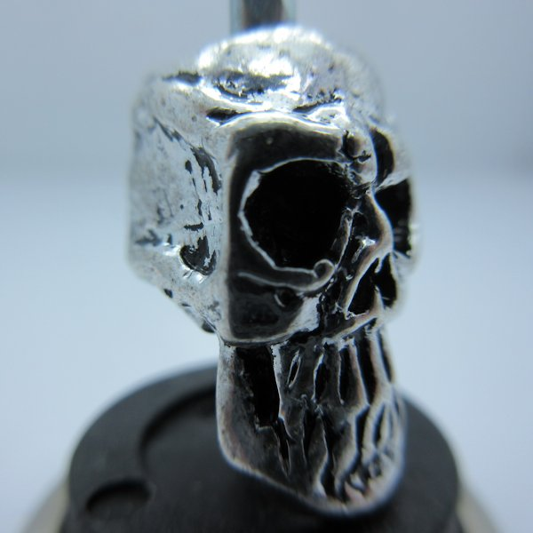 Thulsa Skull In Silver Finish By Bad Azz Beads