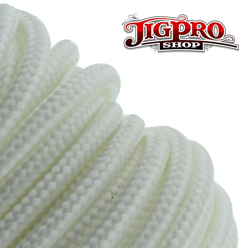 "White 275# Tactical Cord 3/32"" x 100' TS08"