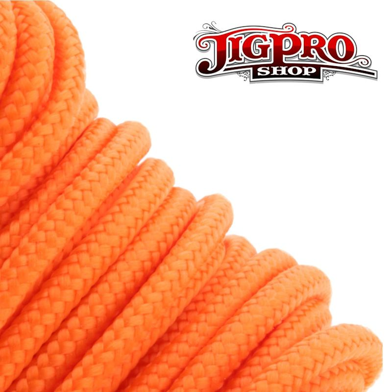 "Neon Orange 275# Tactical Cord 3/32"" x 100' TS17"