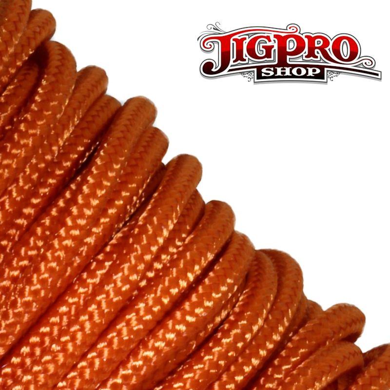 "Burnt Orange 275# Tactical Cord 3/32"" x 100' TS22"