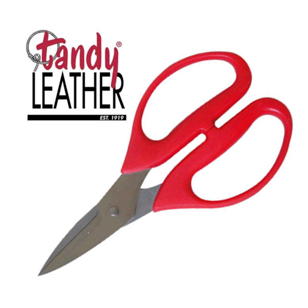 "7"" Tandy Leather Scissors (Stainless Steel)"