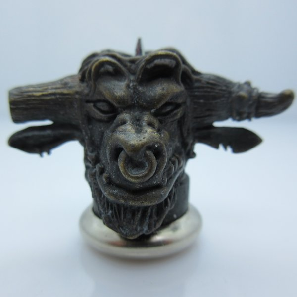Tauren Shaman in Brass With Black Patina by Covenant Everyday Gear
