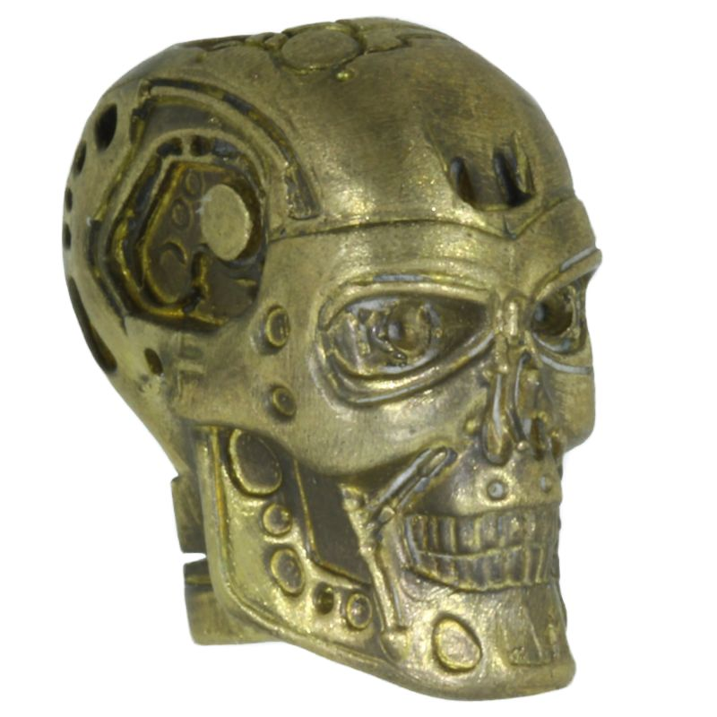 Terminator (Large) In Brass By Techno Silver