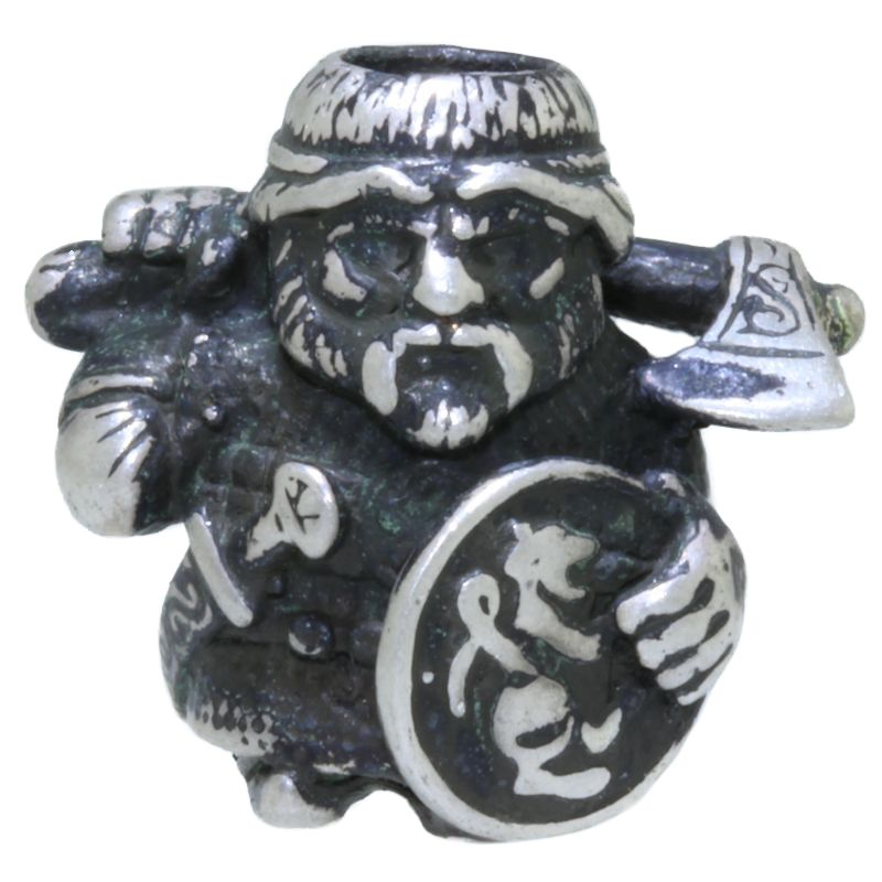 Voivode ~ Slavic Warlord in Nickel Silver by King Lanyard