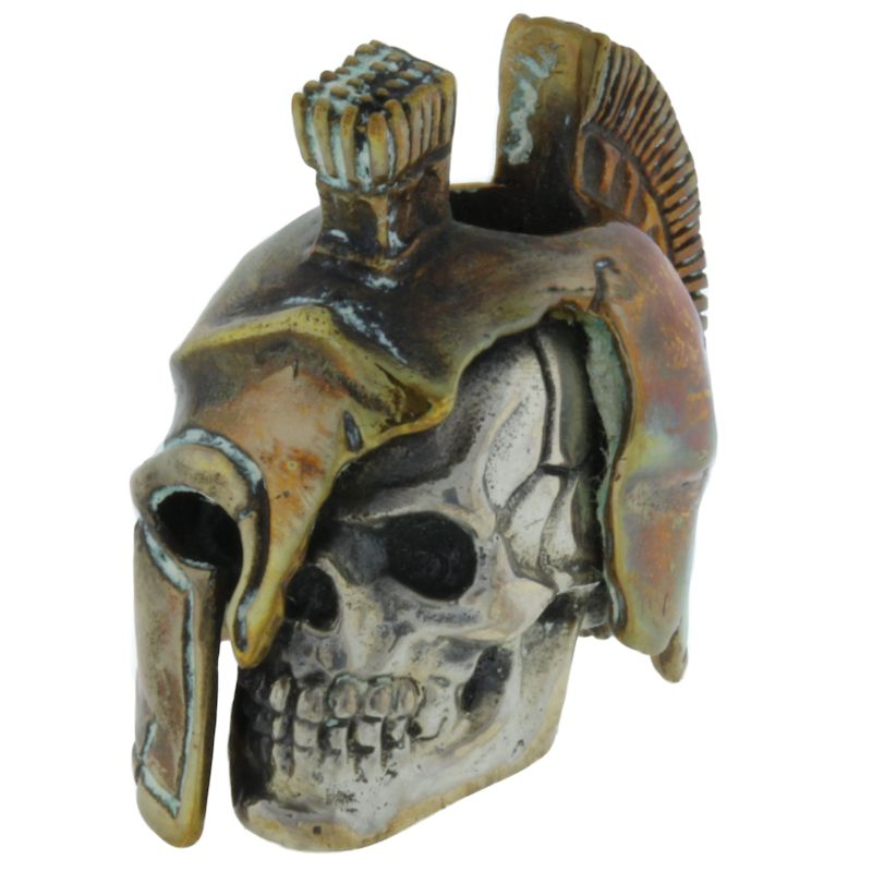 Spartan LG in .925 Sterling Silver and Bronze by GD Skulls