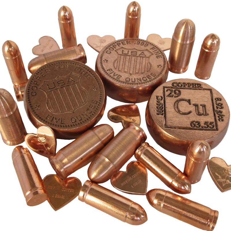 Miscellaneous Fine Copper