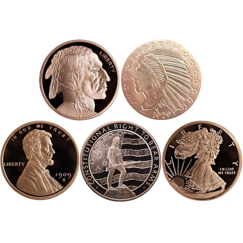 2 oz. Copper Rounds